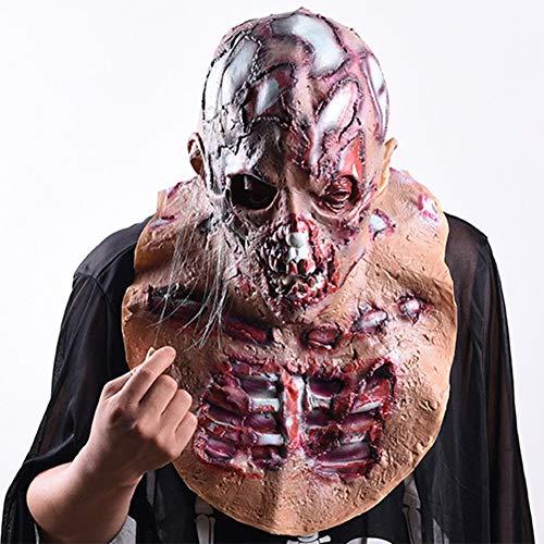 S+S Halloween Maske Walking Dead Full Cover Resident Evil Vampire Zombie Zombie Körper Kopfbedeckung Maske Creative Horror Kleidung Party Gummi Latex Maske