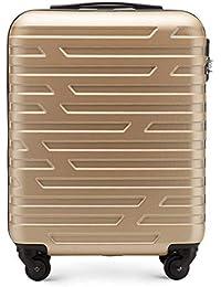 WITTCHEN Stabiler Koffer Trolley Handgepäck Bordgepäck Bordcase Abmessungen 54 x 39 x 23 cm Kapazität 38 L Gewicht 2,8 kg ABS