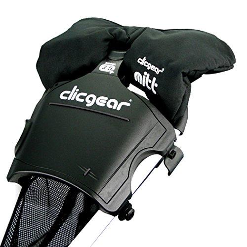 Clicgear Golf Trolley Winter Mitts Mittens - Black