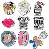 TimeLine Trinketts pulsera Beads Fits Pandora joyas esmalte Rhinestone–sólo para las niñas 2013