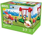 BRIO World 33948 - Village Spielplatz, bunt