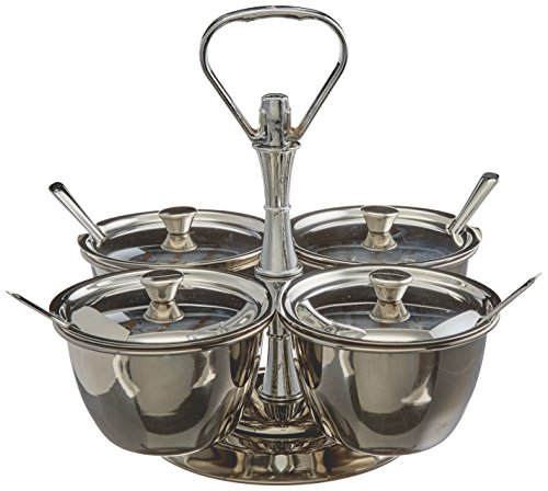 Winco Relish-Server, 4 Stück Relish-server