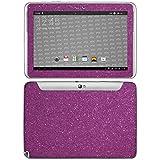 atFolix Samsung Galaxy Note 10.1 (2012 Edition) Skin FX-Glitter-Rich-Lilac Designfolie Sticker