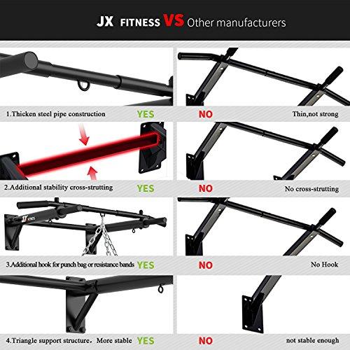 Zoom IMG-3 jx fitness barra di trazione