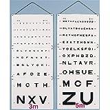 Echelle Optometrique Monoyer lecture 3 m