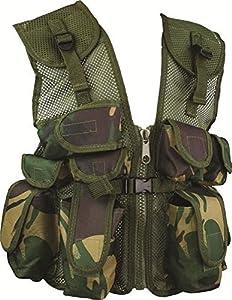 Coffret cadeau Kids armée, forces britanniques Commando militaire Motif camouflage (Lot de 5)