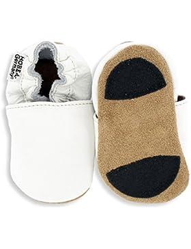 HOBEA-Germany Lauflernschuhe Unifarben - Pantuflas para Bebés