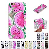 V-Ted Coque Apple iPhone 7 Plus 8 Plus Pastèque Silicone Ultra Fine Mince Bumper...
