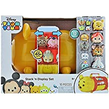Disney Tsum Tsum Stack n Display Winnie Pooh Stack 12 figuras y maletín