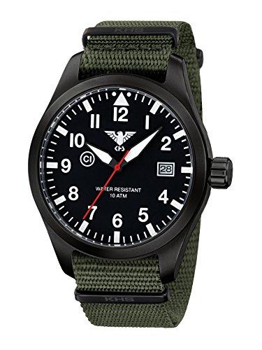 KHS Reloj Hombre Airleader Black Steel KHS.AIRBS.NO