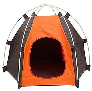 Yeying123 Tente pour Animaux De Compagnie en Plein Air Protection Contre Le Soleil Petit Et Moyen Chien Nid D'animaux Chenil Spécial Chat Litière Chiot Tente