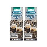 2x Dr. Beckmann Kaffeemaschinen Reinigungs-Tabs 6 Tabs - Entfernt Kaffeefett und -öl
