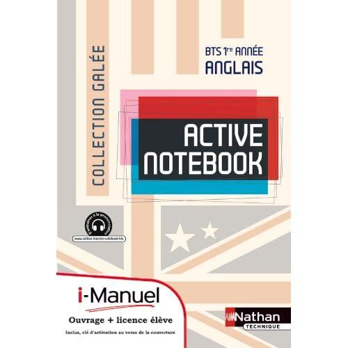 Active Notebook - BTS 1re année B2