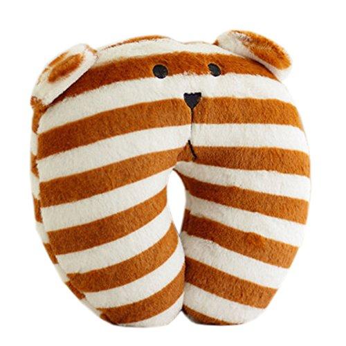 reizende-weisse-coffee-stripes-hals-kopf-stutzkissen-kinder-u-form-kissen