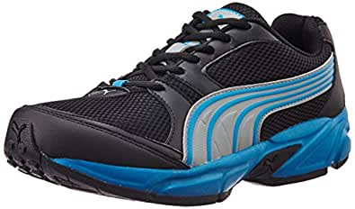 Puma Men's Strike Fashion II DP Black, Cloisonne and Quarry Mesh Running Shoes - 9 UK/India (43 EU)