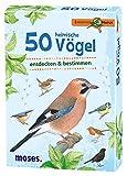 Moses 9715 - Expedition Natur 50 heimische Vögel Lernkarte