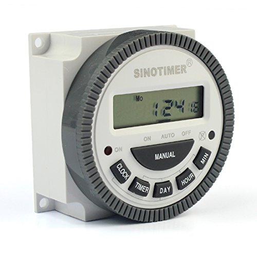 SINOTIMER TM-619H-220V-16A Digital 7 Tage programmierbarer Timer-Schalter Zyklus-Schalter Zeitregler (7 Tage Programmierbare Timer)