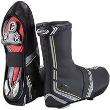 BBB Heavyduty - Botín térmico de ciclismo para hombre, color negro, talla 39/40
