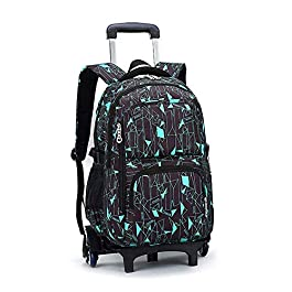 f0e1aba86b C-Xka Trolley Rolling Backpack Borsa da viaggio Scuola di viaggi  Multifunzione a ruote Zaino