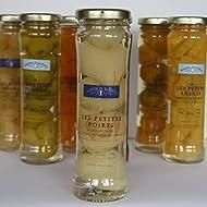 Tarro de mini-peras al aguardiente de pera 21 cl. Comtesse de Barry
