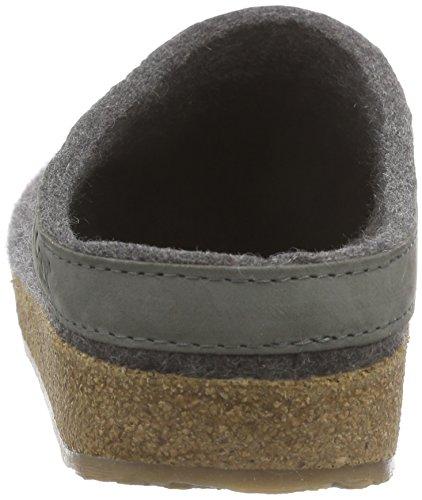 Haflinger Torben, Pantofole A Casa, Unisex Grigio (Grau (4 anthrazit))
