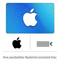 Geschenkkarte für App Store & iTunes - für Deutschland - per E-Mail