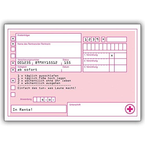 1 Geburtstagskarte: Rezept Grußkarte an eine Person Ihrer Wahl für einfach das tun, was Laune macht!