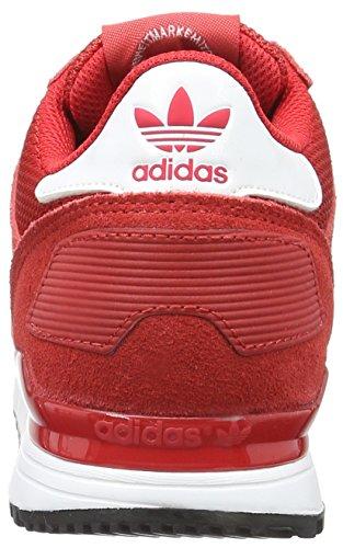 adidas Unisex-Erwachsene Zx 700 Turnschuhe Rojo (Escarl / Ftwbla / Negbas)