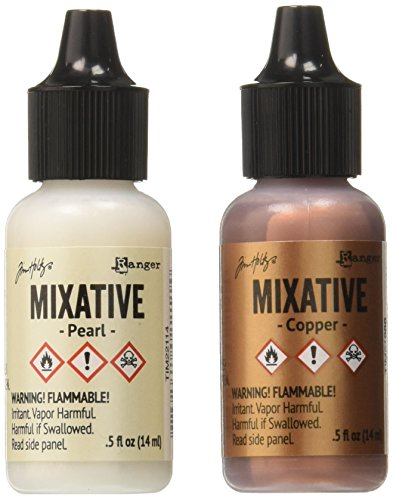Tim Holtz Ranger Alcohol Ink Metallic Set