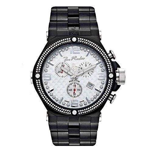 Joe Rodeo Diamond Men's Watch - PHANTOM black 2.25 ctw