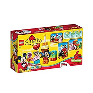 LEGO 10597 Duplo Disney Mickey and Minnie Birthday Parade Playset by LEGO