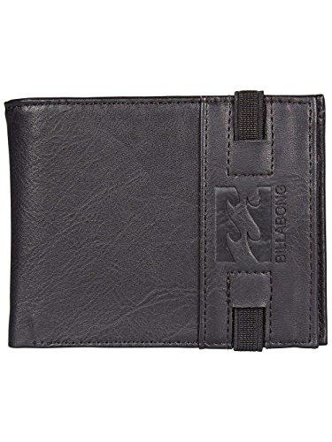 Billabong Locked Wallet, Bolsa y Cartera para Hombre, Negro (Black), 1x1x1 cm (W x H x L)