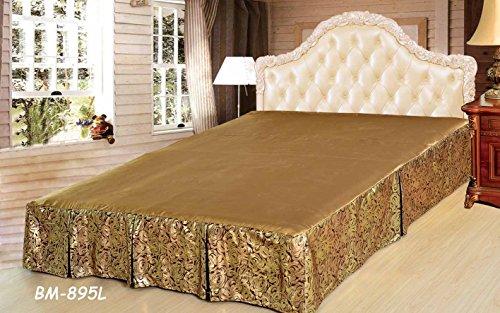 Tache Home Fashion Bett Rock, King - Bedskirt Licht