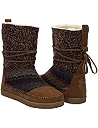 TOMS Womens Nepal Boot Cinnamon Suede Textile