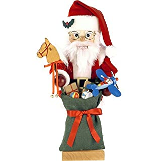 0-463 - Christian Ulbricht Nutcracker - Santa with Toys - Ltd Edition 1000 pcs - 18.25H x 8W x 8.25D by Alexander Taron Importer