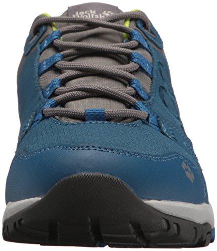 Jack Wolfskin Activate Texapore Low M Wasserdicht, Chaussures de Randonnée Basses Homme Poseidon Blue