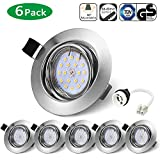 Bojim Lot x6 Spots LED Encastrables Orientable GU10 Lampe de plafond Blanc Neutre...