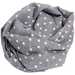 Bufandas del Bebé,Xinan Collar Niño Niña Otoño Invierno Algodón O Ring Pañuelos (G)