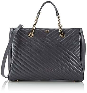 Cavalli Class Medium Handbag Idol 005, Women's Top-handle Bag, Grey (003 003), 34x26x14 cm (B x H x T)