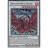 "Carte Yu-Gi-Oh! ""Dragon Rose Noire"" DUSA-FR077 - VF/ULTRA RARE"