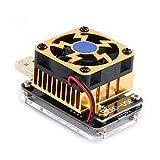 Bobury Probador de carga EBD-USB Enhanced Edition para QC2.0/3.0 MTK-PE Capacidad Voltaje de disparador Corriente de prueba 21V 4A 35W