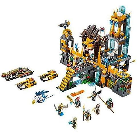LEGO Legends Of Chima - Set de juego The Lion CHI Temple (70010)