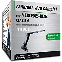Rameder Pack Barres de Toit SquareBar pour Mercedes-Benz Classe G  (116209-00060 dcc30a29c804