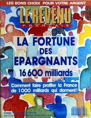 REVENU FRANCAIS (LE) [No 254] du 01/12/1...