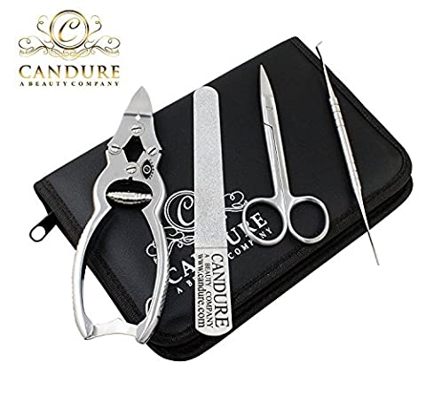 CANDURE®- 4Ps SOLID STAINLESS STEEL PROFESSIONAL CLIPPERS CUTTERS CANTILEVER 16