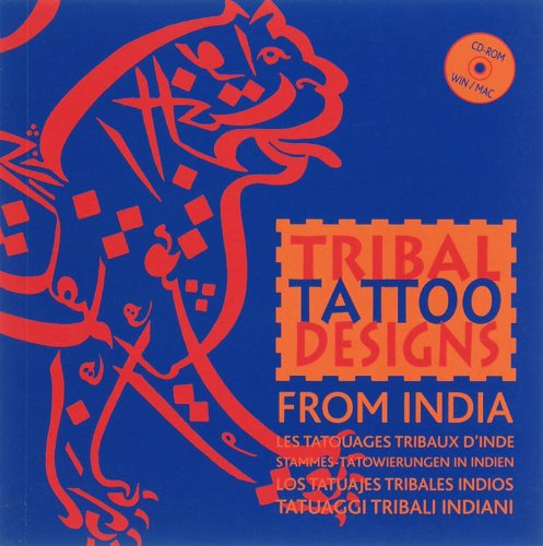 Tribal Tattoo Designs from India (1Cédérom) par M. Hesselt van Dinter
