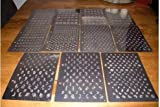 Generic Konad XL Nail Stamping Set B, E 2Designs Nail Art Image Plate Design 21*14.5CM