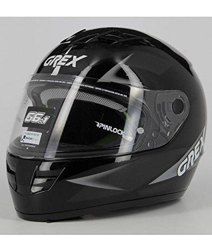 GREX Casco Integrale G6.1 Wry Metal Black, Tg. L