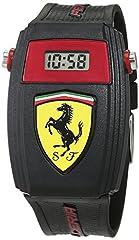 Idea Regalo - Scuderia Ferrari 0810012 Orologio unisex per bambini