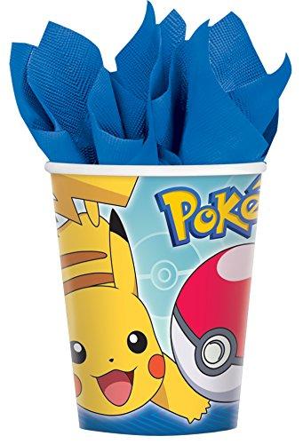 Amscan 581859Tasse 266ML Pokémon Core